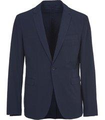 dondup blue classic blazer