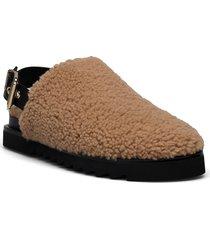 slipper 6070 mules slip-ins brun billi bi