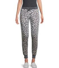 vintage havana women's leopard jogging pants - leopard - size s