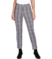 sanctuary carnaby plaid cropped pants