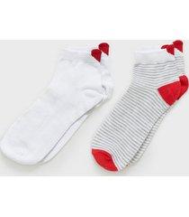 pieces pcnunar ankel socks 2-pack kac ankelsockar