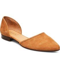 shoes ballerinaskor ballerinas brun carla f