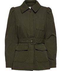 vihalli belted blazer/su blazers casual blazers grön vila