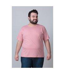 camiseta básica masculina plus size rose camiseta básica masculina plus size rose ex kaue plus size