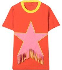 red teen t-shirt