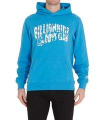 billionaire boys club logo popover hoodie