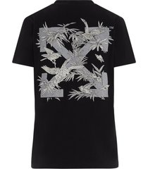 off-white birds reflective t-shirt