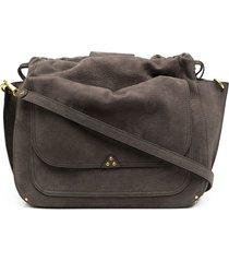 jérôme dreyfuss slouchy satchel bag - grey
