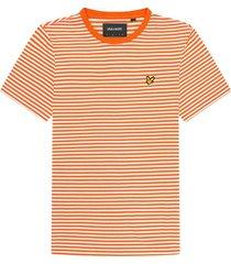 t-shirt gestreept oranje
