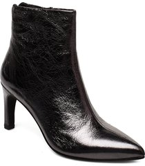 whitney shoes boots ankle boots ankle boot - heel svart vagabond