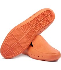 mocasin stretch unisex reciclable vegano naranja zanahoria