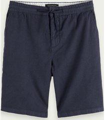 scotch & soda mid-length beach shorts