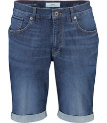 brax shorts denim buck 5-pocket blauw