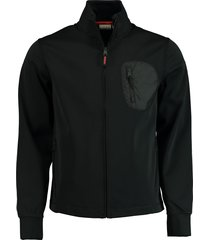 napapijri fleece vest softshell zwart np0a4e7q/041