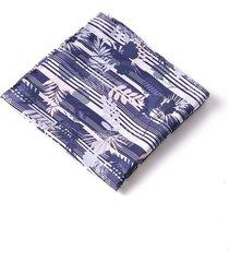 pañuelo de bolsillo hojas y flores 01922