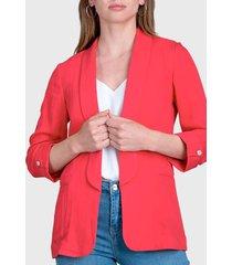 chaqueta ash rojo - calce regular