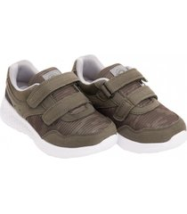 zapatilla brooklyn verde militar stepps