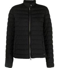 woolrich hibiscus padded jacket - black