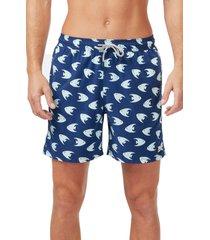 men's tom & teddy angelfish swim trunks