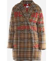 burberry horseferry print padded coat