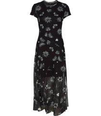 vest austin jurk knielengte zwart desigual