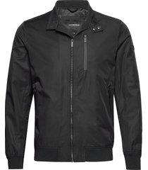 cotton touch jacket dun jack zwart lindbergh