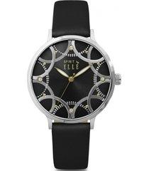 reloj fiesta negro elle