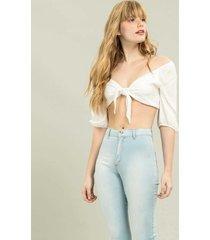calça jeans jegging duo core jeans - lez a lez