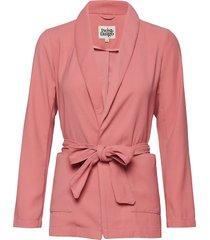 venus kimono blazer kavaj rosa twist & tango