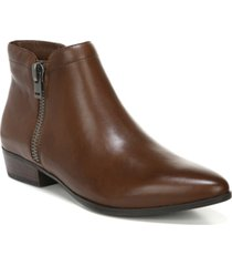 naturalizer claire leather booties women's shoes