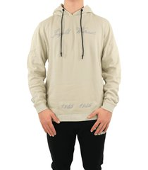 in gold we trust chain embroidery hoodie