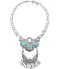 collar  azul sasmon cl-10396