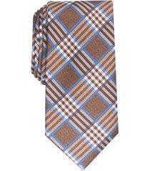 perry ellis men's cameron plaid tie