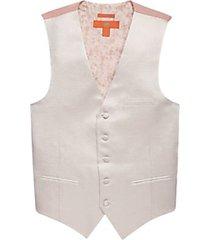 egara orange pink metallic formal vest