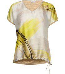 t-shirt short-sleeve t-shirts & tops short-sleeved geel gerry weber