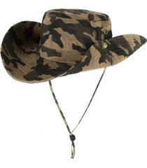 cappelli a scomparsa del camuffamento di largo degli uomini cappello pieghevole del pescatore di giungla all'aperto