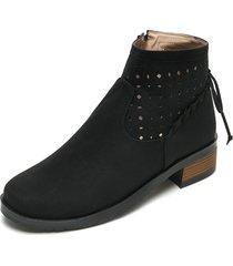 botín moda dama tellenzi pb751 negro