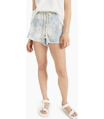tinseltown juniors' tie-front pull-on shorts