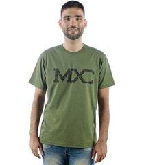 camiseta mxc brasil logo militar masculina - masculino