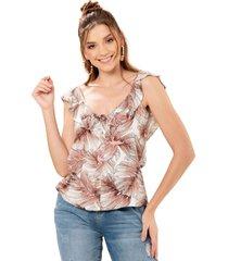 blusa balazo rosa ragged pf11112247