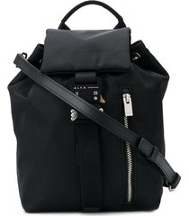 1017 alyx 9sm rollercoaster buckle backpack - black