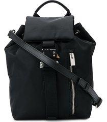 1017 alyx 9sm rollercoaster buckle backpack - black
