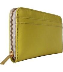 carteira laceê grande amarela