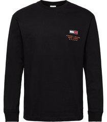 tjm new york tee c sweat-shirt tröja svart tommy jeans