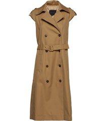 duke jacket trenchcoat lange jas beige birgitte herskind