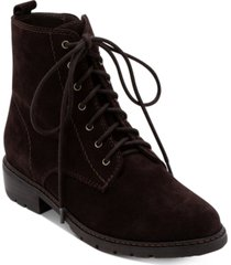 aqua college voilet lace-up waterproof booties, created for macy's women's shoes