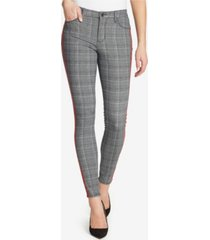 skinnygirl skinny hidden message plaid jeans