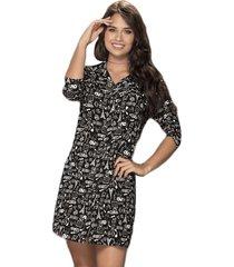 envío gratis vestido evie negro  para mujer croydon