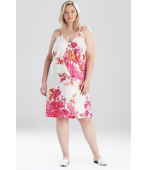 natori bloom slip dress sleep pajamas & loungewear, women's, size 3x natori