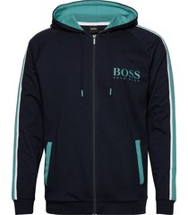 authentic jacket h hoodie svart boss